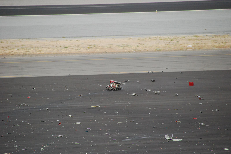Reno Airrace Galloping Ghost Crash
